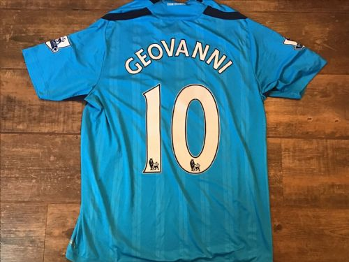 2009 2010 Hull City Geovanni Away Football Shirt Large